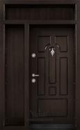 Ednokrila vhodna vrata T 108 tsvyat Tamen oreh