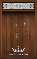 Ednokrila vhodna vrata T 110 tsvyat Zlaten dab 1