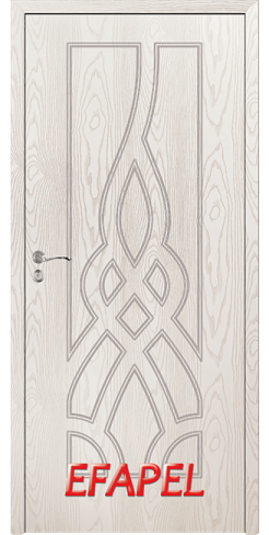 Интериорни врата Efapel 4534P Бяла мура