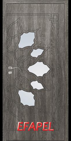 Интериорни врата Efapel 4539 Сив ясен