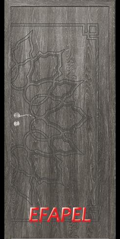 Интериорни врата Efapel 4539P Сив ясен