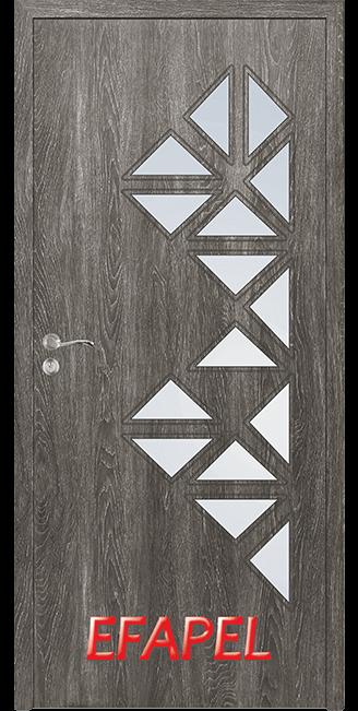 Интериорни врата Efapel 4558 Сив ясен