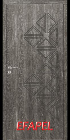 Интериорни врата Efapel 4558P Сив ясен