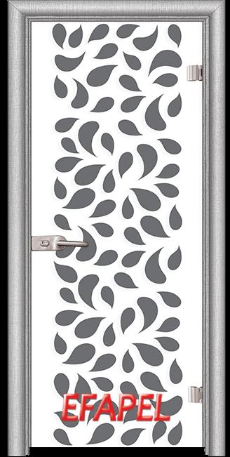 Стъклена интериорна врата Print G 13 1 L