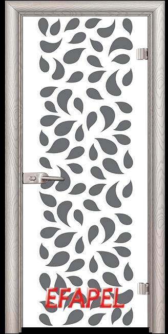 Стъклена интериорна врата Print G 13 1 V