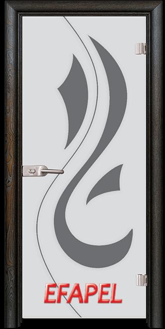 Стъклена интериорна врата Sand G 14 10 R