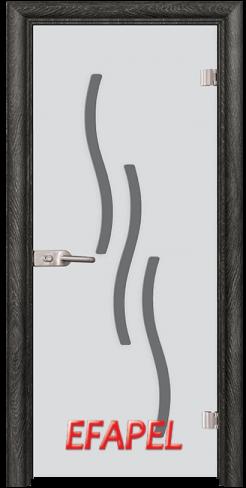 Стъклена интериорна врата Sand G 14 2 O