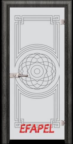 Стъклена интериорна врата Sand G 14 8 O