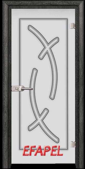 Стъклена интериорна врата Sand G 14 9 O